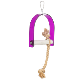 Acrylic Swing With Rope Small