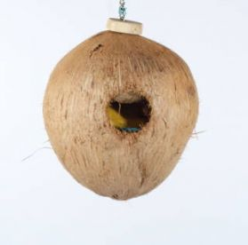 Coco Full Moon Natural Bird Foraging Toy Small