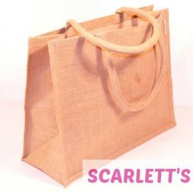 Jute Bag Natural Amazon Design
