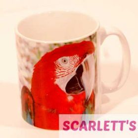 Mug Greenwing Macaw