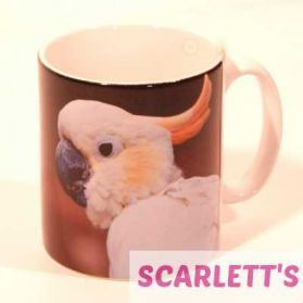 Gift Mug Cockatoo Parrot Design