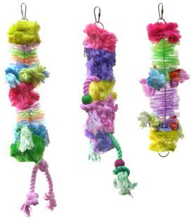 Flamenco Medium Preening Toy