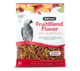 Zupreem FruitBlend Medium/Large Bird Food 3.5lb