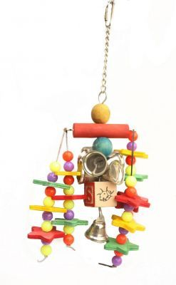 Starstruck Small Bird Toy With Bells
