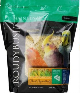 Roudybush Low Fat Crumble Bird Pellet 44oz