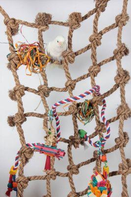 HUGE- Large Bird Rope Cargo Climbing Net