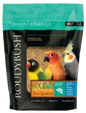 Roudybush Daily Maintenance Mini Bird Pellet 25lb