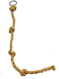 Sisal Knotted Rope Bird Toy