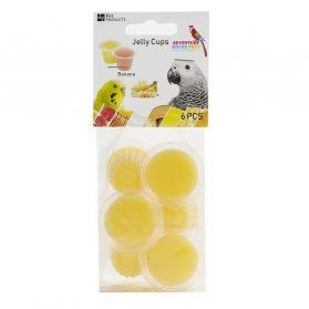Fruit Cup Jellies Banana Bird Treat Pack 6