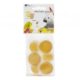 Fruit Cup Jellies Honey Bird Treat Pack 6
