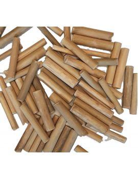 Natural Bamboo Sticks Pack 50