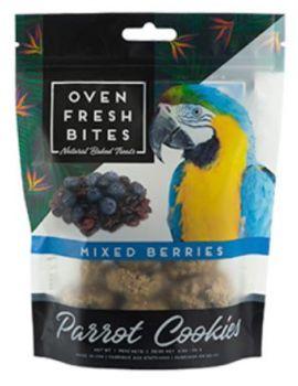 Oven Fresh Birdie Munchies Parrot Treat - Mixed Berries 4oz