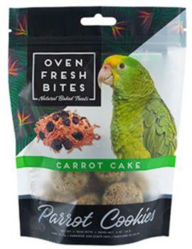 Oven Fresh Birdie Munchies Parrot Treat - Carrot Cake 4oz