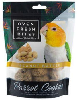 Oven Fresh Birdie Munchies Parrot Treat - Peanut Butter 4oz