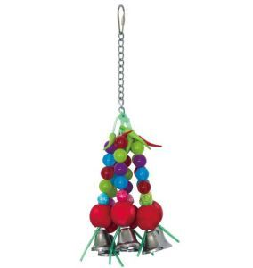 Bauble Bells Bird Toy