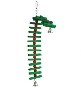 Elfs Ladder Wood Bird Toy