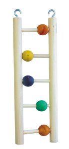 5 Step Bird Ladder With Beads