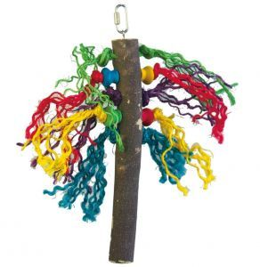Preen Me Wood & Rope Bird Toy