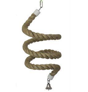 Natural Sisal Boing Rope Bird Toy Medium 195cm!
