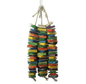 Trio Stacks Giant Shredding Bird Toy