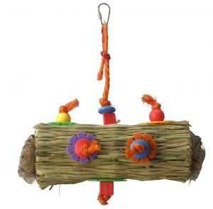 Hula Grassy Hollow Foraging Bird Toy