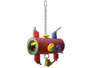 Mini Bagel Forager Bird Toy