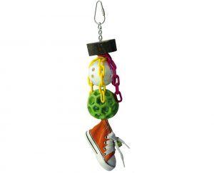 Sneaker Whiffle Bird Toy