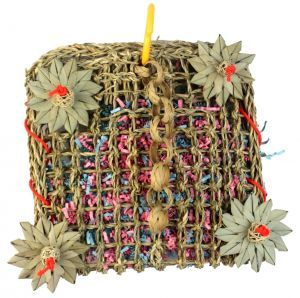Foraging Pouch Medium 25cm Bird Toy