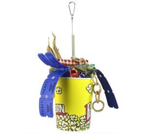 Tub O Treats Foraging Bird Toy