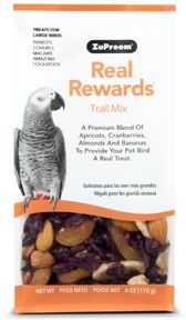 Zupreem Real Rewards Trail Mix Large Bird 6oz
