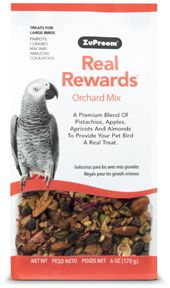 Zupreem Real Rewards Orchard Mix Large Bird 6oz