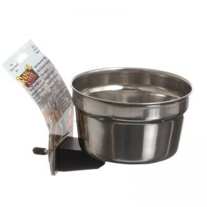 Stainless Steel Croc Lock Bird Bowl 20oz