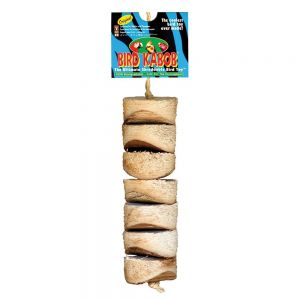Wesco Original Bird Kabob - Natural Chew Toy for Parrots