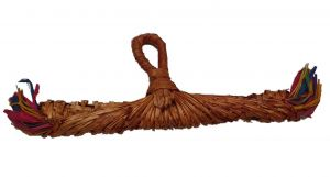 Cinnamon Swirl Natural Shredding Bird Toy