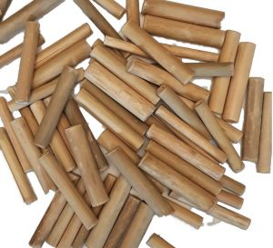 Natural Bamboo Sticks Pack 50