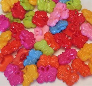 Butterfly Buttons Toy Making Part Pack 95