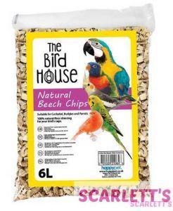 Beech Chips 6L Bird Safe Substrate