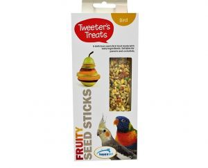 Tweeter's Treats Seed Sticks for Parrots - Fruity - Pack of 2