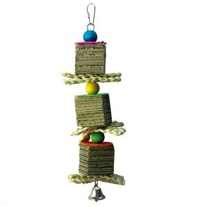 Triple Towers Medium Bird Shredding Toy