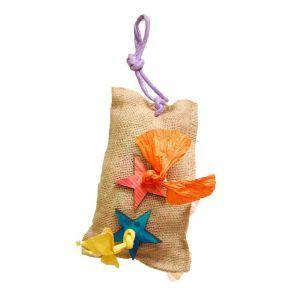 Foraging Surprise Bag Parrot Toy - Medium