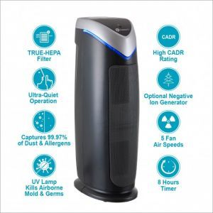 PureMate® PM 510 Multiple Technologies True HEPA Air Purifier