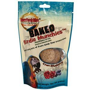 Oven Fresh Birdie Munchies Parrot Treat - Cran & Blueberry 4oz