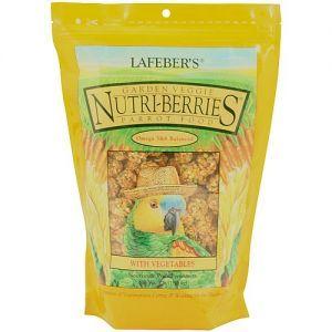 Lafeber NutriBerries Garden Veggie Complete Parrot Food 1.36kg