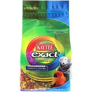 Kaytee Exact Rainbow Complete Food for Parrots & Conures 20lb