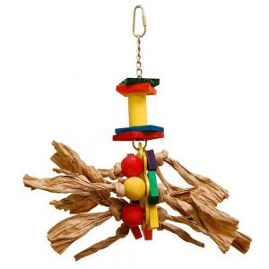 Zoo Max Medium Paper Rope Bird Toy