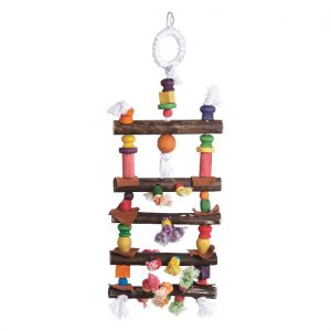 Lagoon Ladder 58cm Wood Bird Toy