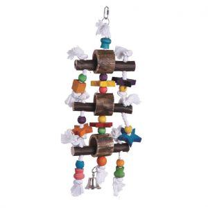 Smokie Barrel Wood Toy - Medium Bird