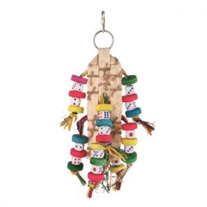 Double Dice Medium Bird Toy
