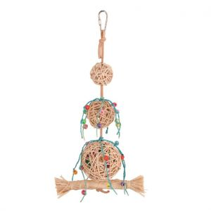 Wicker Fun Natural Bird Toy