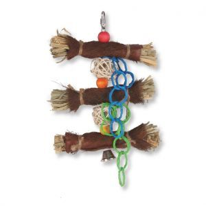 Jungle Roll Natural Shredding Bird Toy